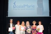 Soziale Innovationen vor den Vorhang bei der SozialMarie-Preisverleihung