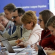 Ukrainian hosts headed by Minister Liliia Hrynevych