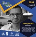 Gorazd Weiss (ZSI) was one of the key speakers on Horizon 2020 in Brazil