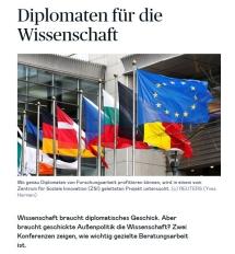 ZSI-koordiniertes Projekt in Die Presse