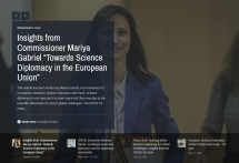 """Towards Science Diplomacy in the European Union"""