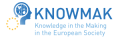 Knowledge in the making in the European society