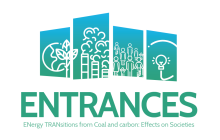 ENergy TRANsitions from Coal and carbon: Effects on Societies