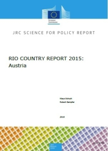 Research and Innovation Observatory Country Report Austria 2015